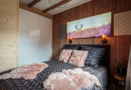 Chalet Südtirol Schlafzimmer