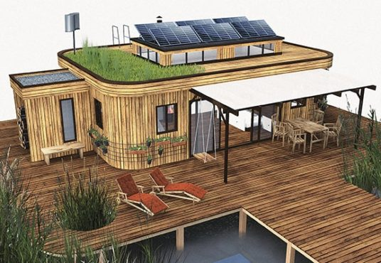 Wohnwagon Minihaus