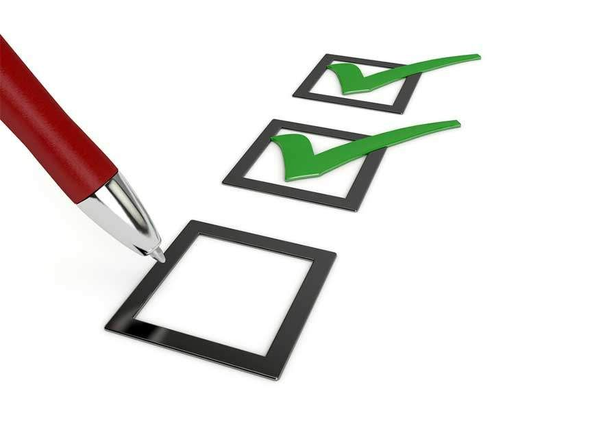 """""""FAQ Checkliste"""""""